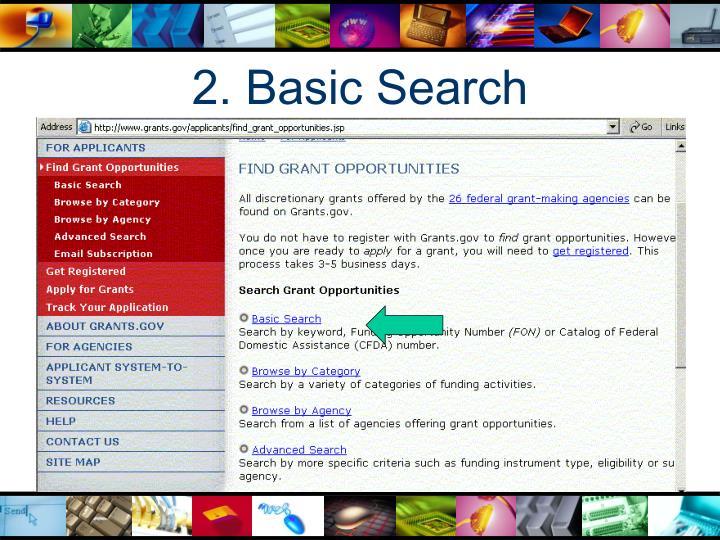 2. Basic Search