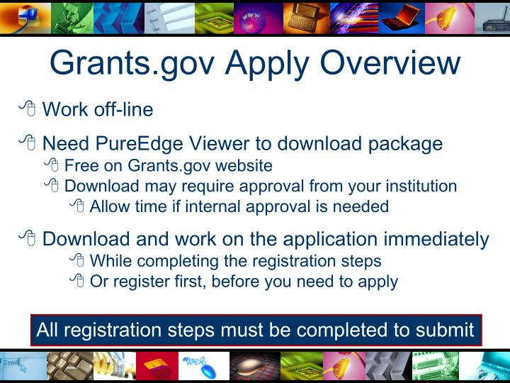 Grants.gov Apply Overview