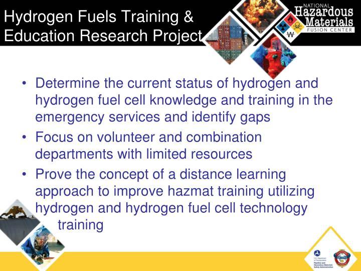 Hydrogen Fuels Training &