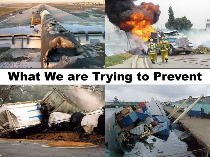 What We are Trying to Prevent