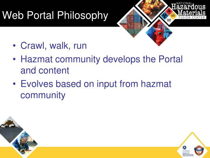 Web Portal Philosophy