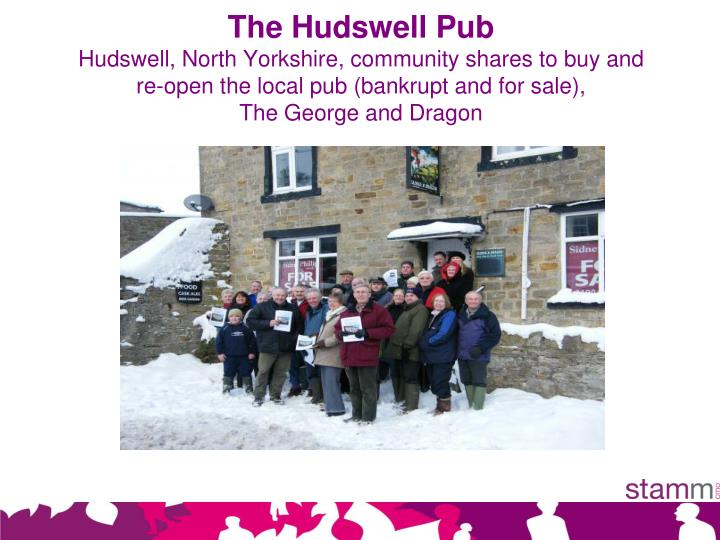 The Hudswell Pub