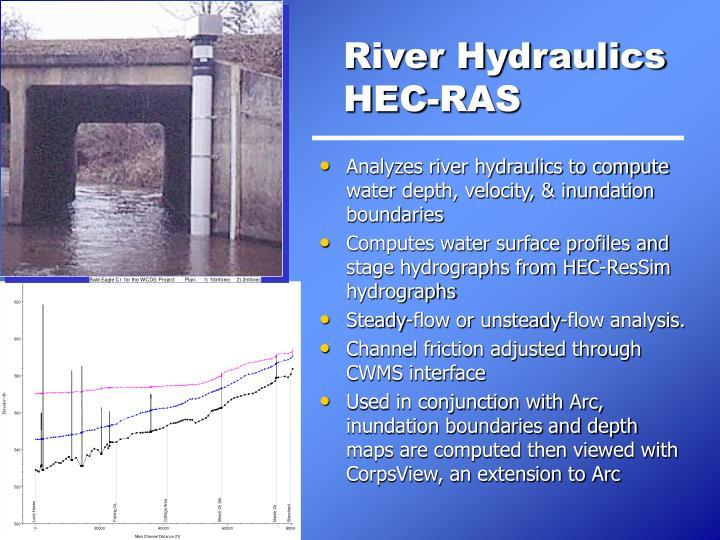 River Hydraulics HEC-RAS