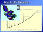 river profile modeling
