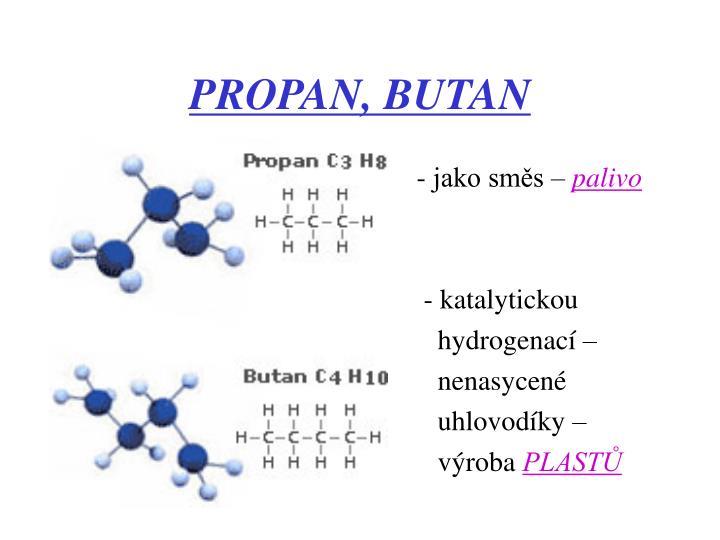 PROPAN, BUTAN
