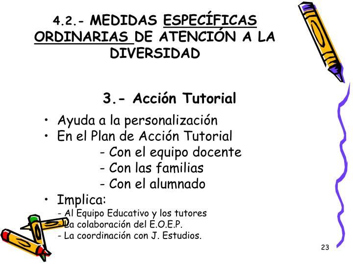 3.- Acción Tutorial