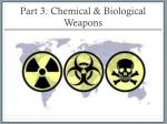part 3 chemical biological weapons
