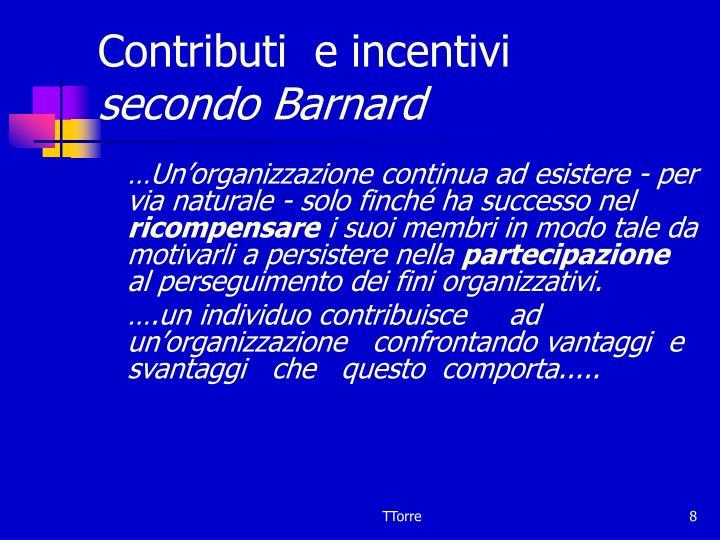 Contributi  e incentivi