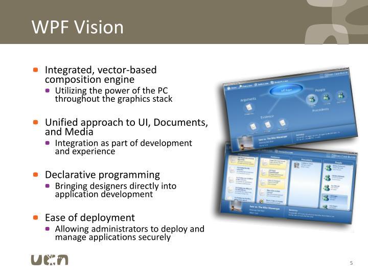 WPF Vision
