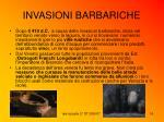 invasioni barbariche