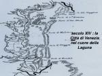 secolo xiv la citt di venezia nel cuore della laguna