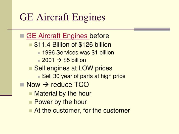 GE Aircraft Engines
