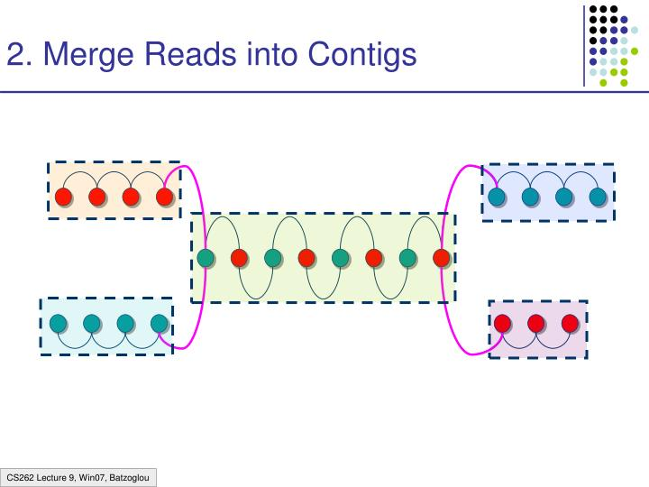 2. Merge Reads into Contigs