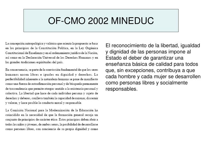 OF-CMO 2002 MINEDUC