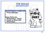 the roles methodologist