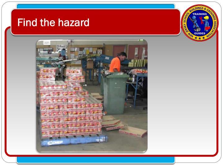 Find the hazard