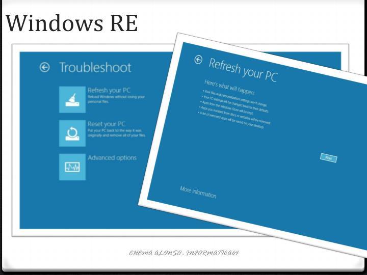Windows RE