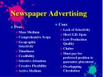 newspaper advertising
