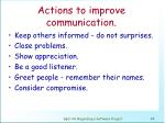 actions to improve communication1
