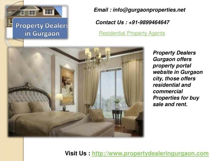 Email : info@gurgaonproperties.net