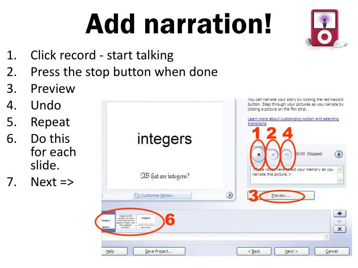 Add narration!