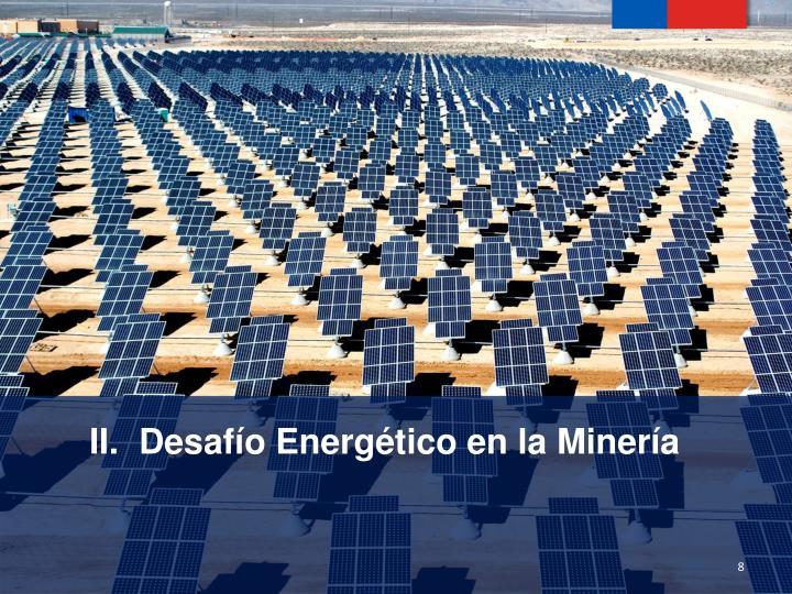 Desafío Energético en la Minería