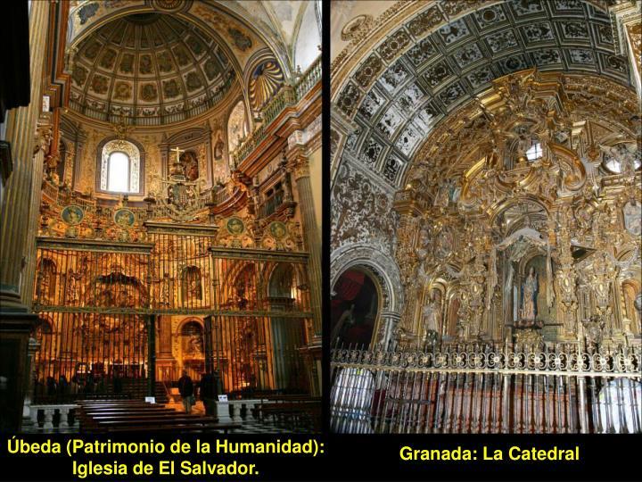 Úbeda (Patrimonio de la Humanidad): Iglesia de El Salvador.