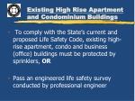existing high rise apartment and condominium buildings2