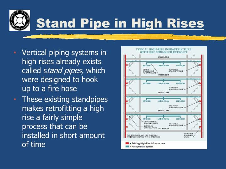 Stand Pipe in High Rises