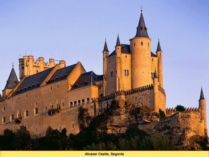 Alcazar Castle, Segovia