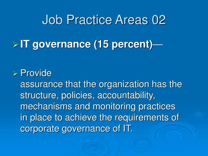Job Practice Areas 02