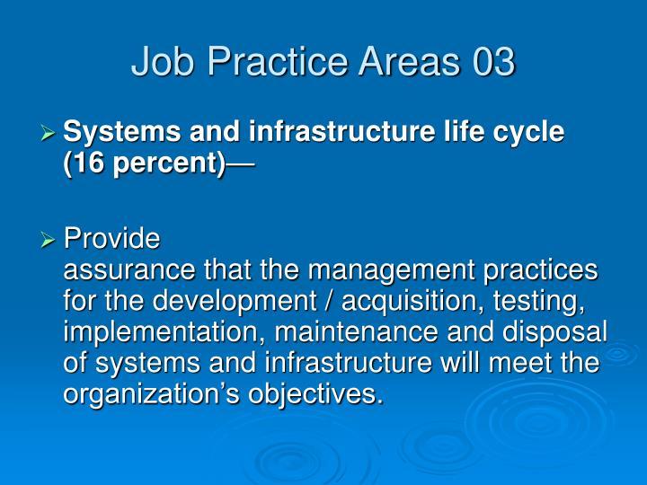 Job Practice Areas 03