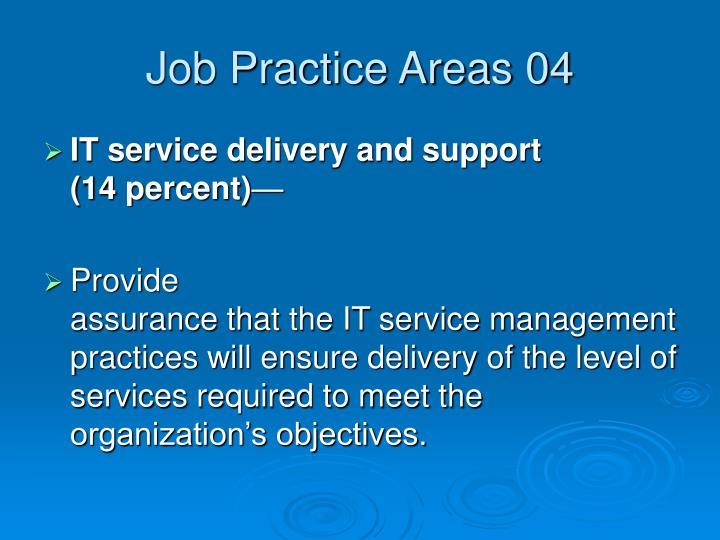 Job Practice Areas 04