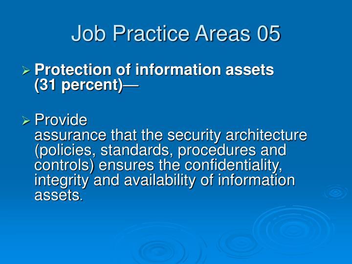 Job Practice Areas 05