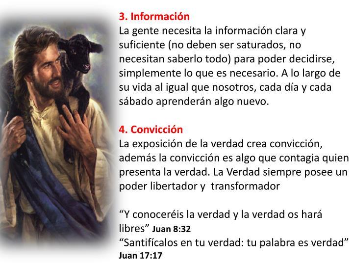 3. Información