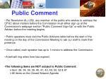 public comment2
