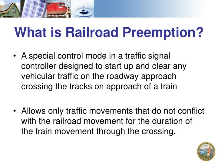 What is Railroad Preemption?