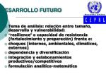 desarrollo futuro