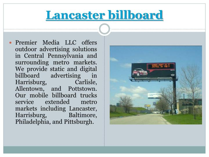Lancaster billboard