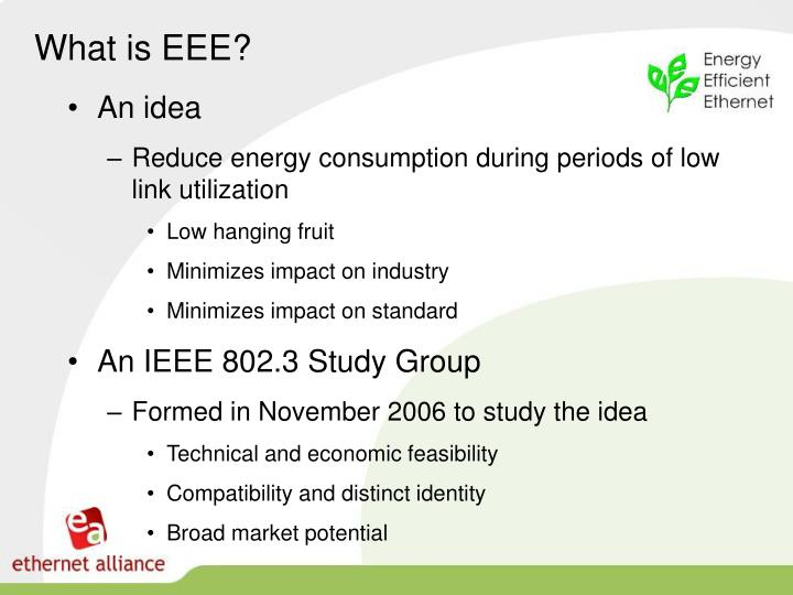 What is EEE?