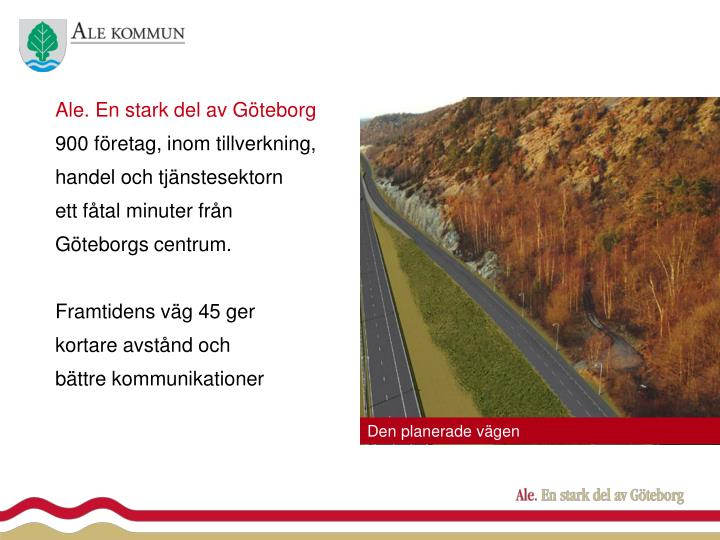 Ale. En stark del av Göteborg