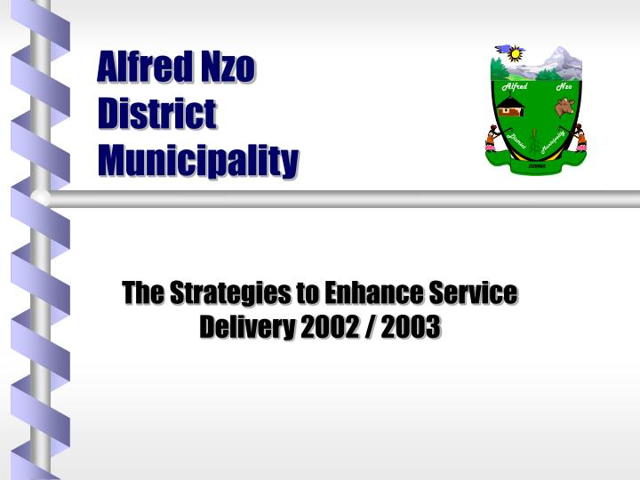 alfred nzo district municipality