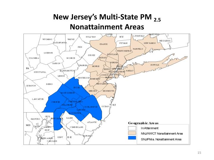 New Jersey's Multi-State PM
