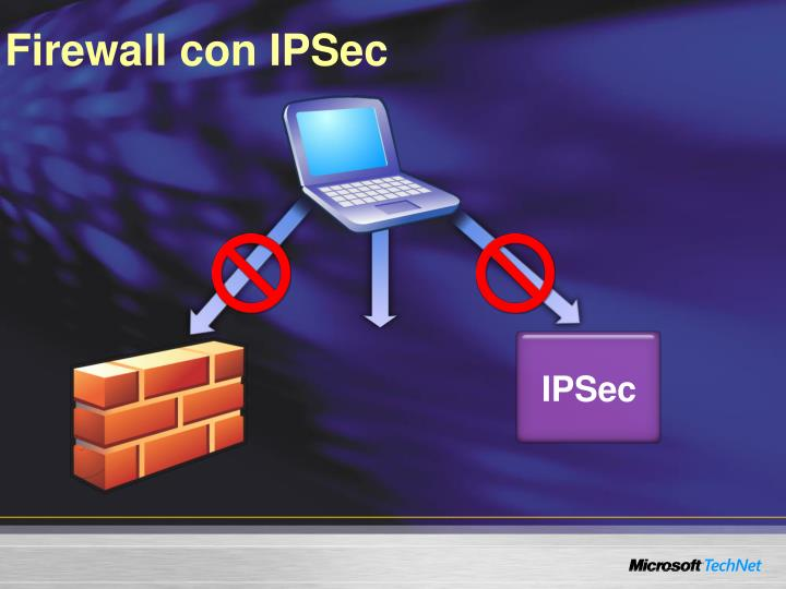 Firewall con IPSec