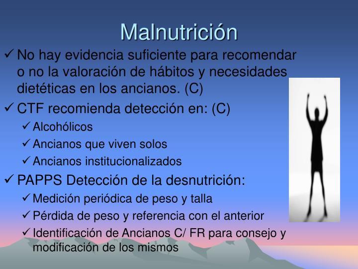 Malnutrición