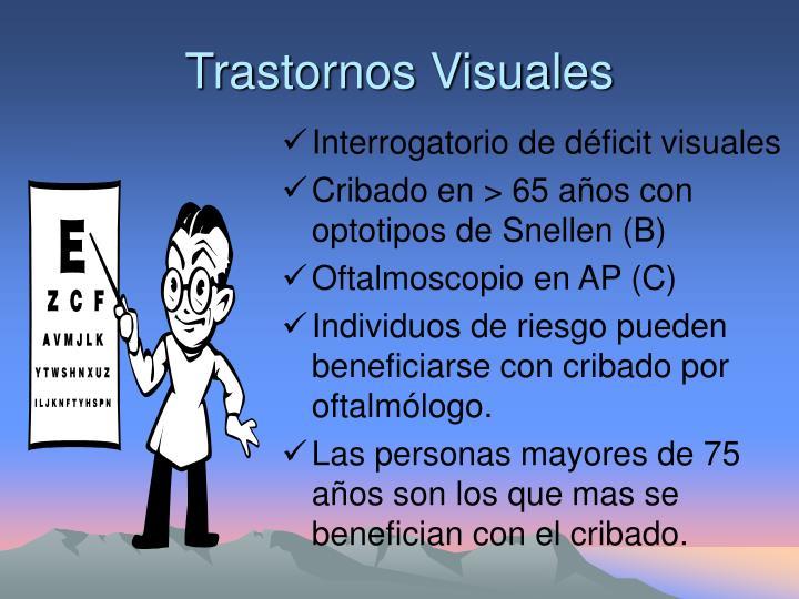 Trastornos Visuales