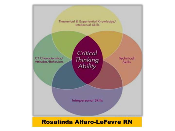 Rosalinda Alfaro-LeFevre RN