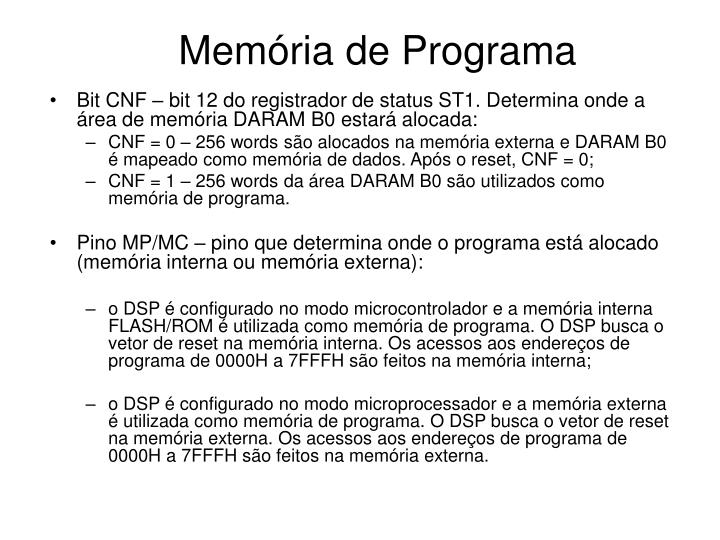 Memória de Programa