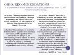 ohio recommendations