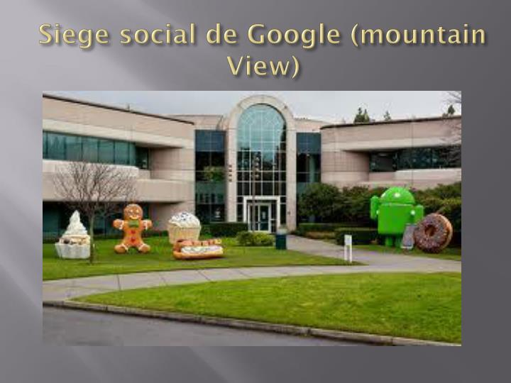 Siege social de Google (